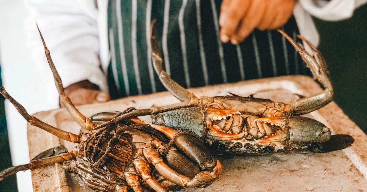 On mange du crabe en Avril