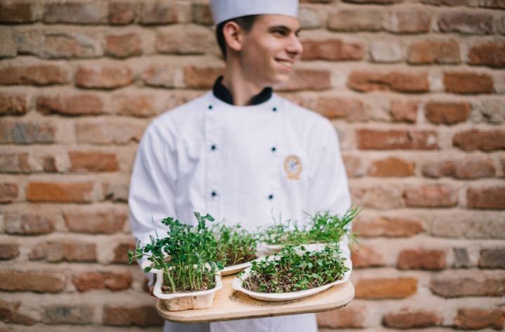 On mange à Modena, Italie